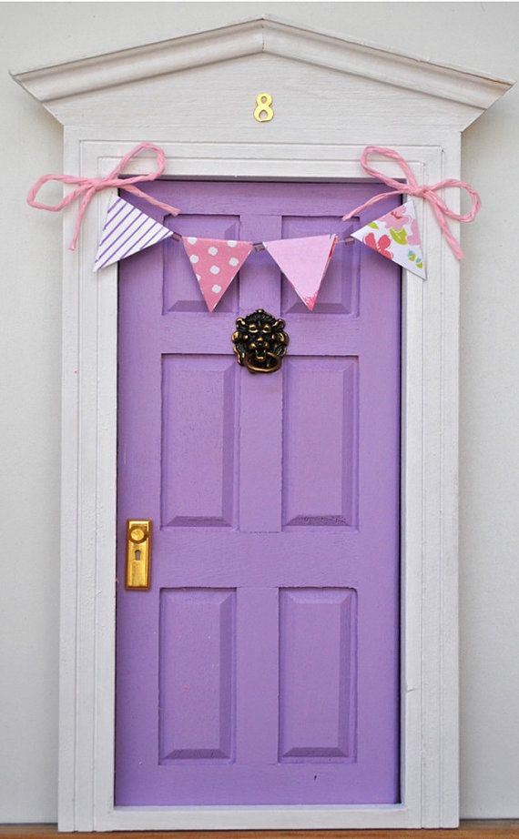 Tooth Fairy door by Lapicesdecolores on Etsy