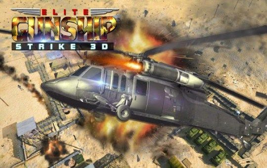 Gunship Strike 3D v 1 0 7 Mod Unlimited Money Download
