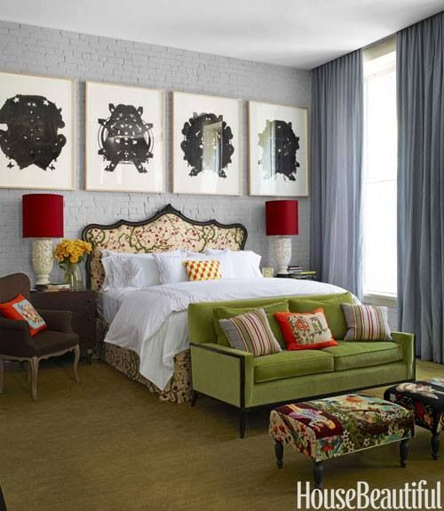 Eclectic style bedroom ideas