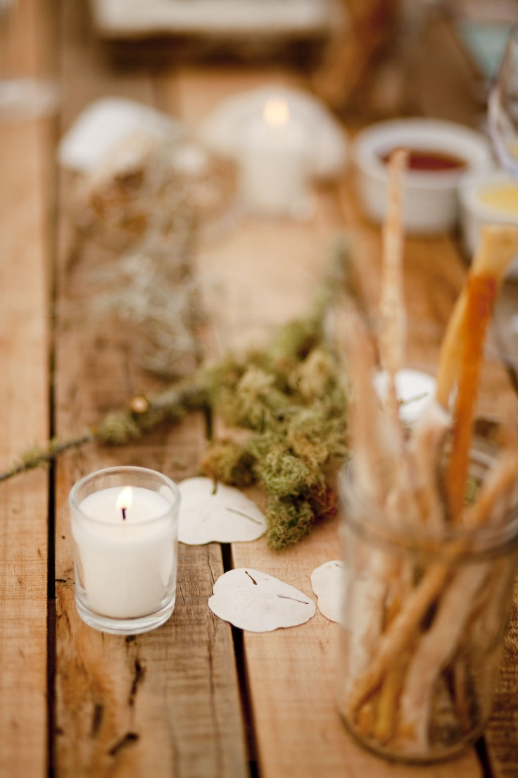 Tables - Alexia's Rustic Beach theme 21st - www.eventsandtents.co.za