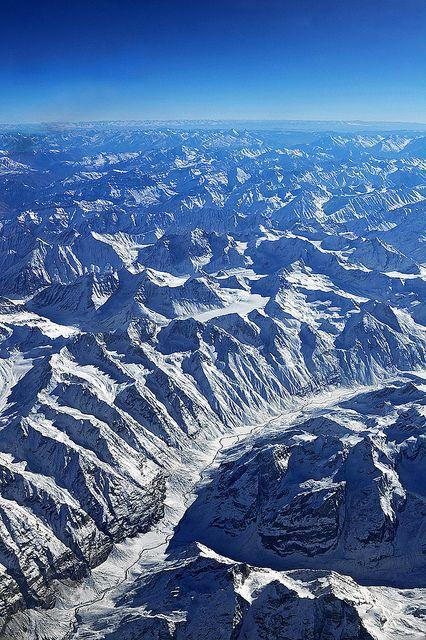 The Himalayas #Zanskar Range, #Ladakh, #Jammu & #Kashmir, #India.