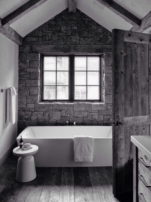 Attractive 63 Sensational Bathrooms With Natural Stone Walls Gallery