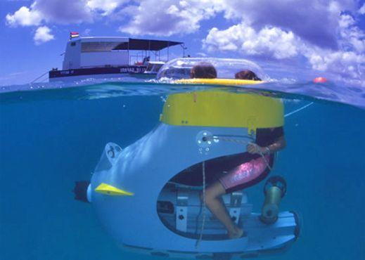 Blue Safari undersea exploration