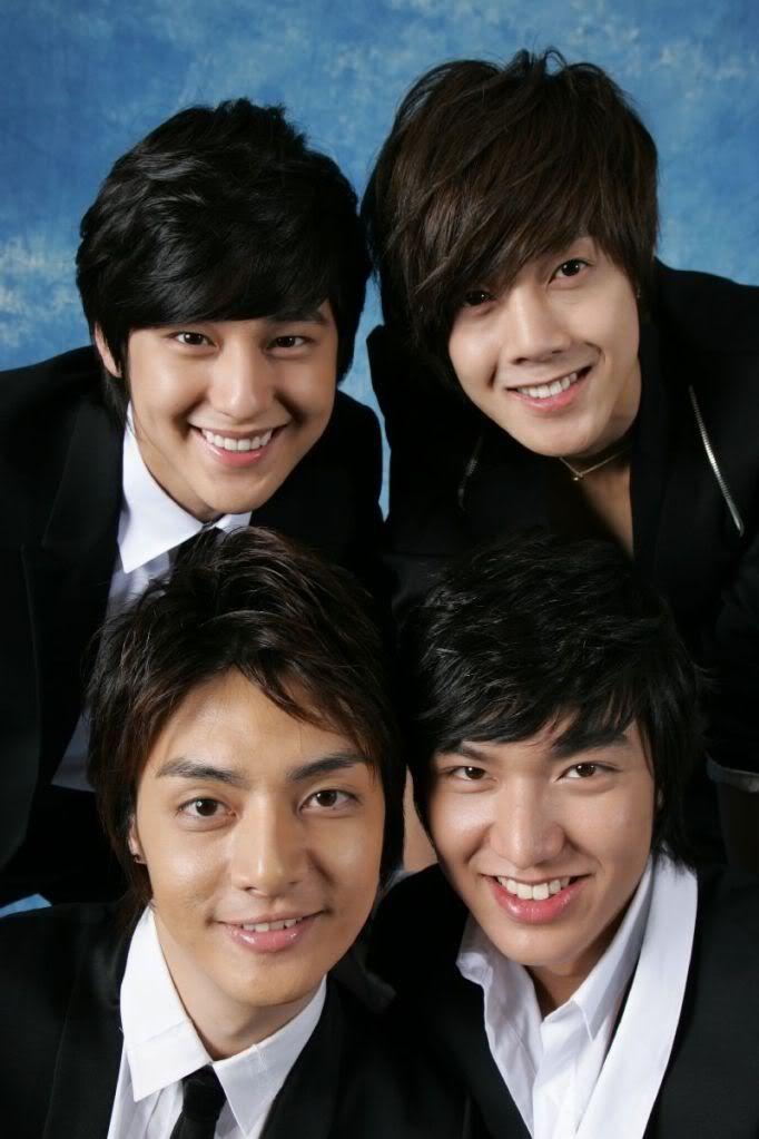 Boys Over Flowers. Woobin. Junpyo. Jihoo. Yijung.