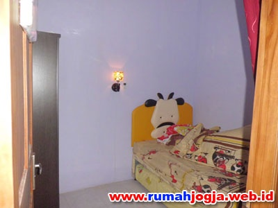 Kamar tidur rumah Jogokaryan