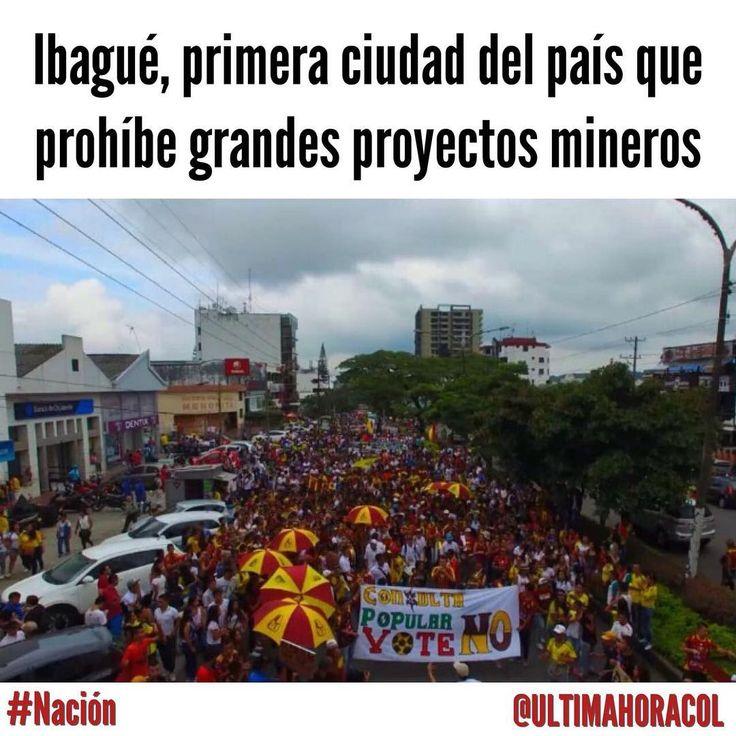 """@ultimahoracol) El día de ayer el Concejo de Ibagué aprobó el Proyecto de Acuerdo numero 012 &;por medio del cual se…"""""""