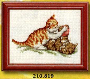 permin gobelin | Gattini che giocano punto croce - Mezzo punto, punto croce, gobelin a ...