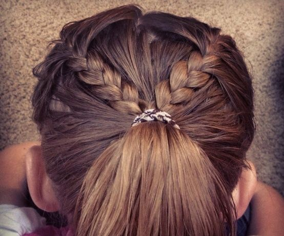 Astonishing 1000 Ideas About Braided Hairstyles For Kids On Pinterest Short Hairstyles For Black Women Fulllsitofus