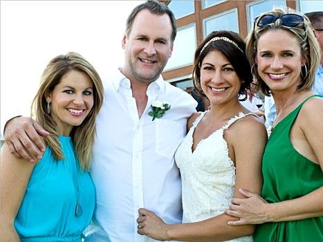 Full House Reunites At Dave Couliers Wedding See The Cute Candid Pics