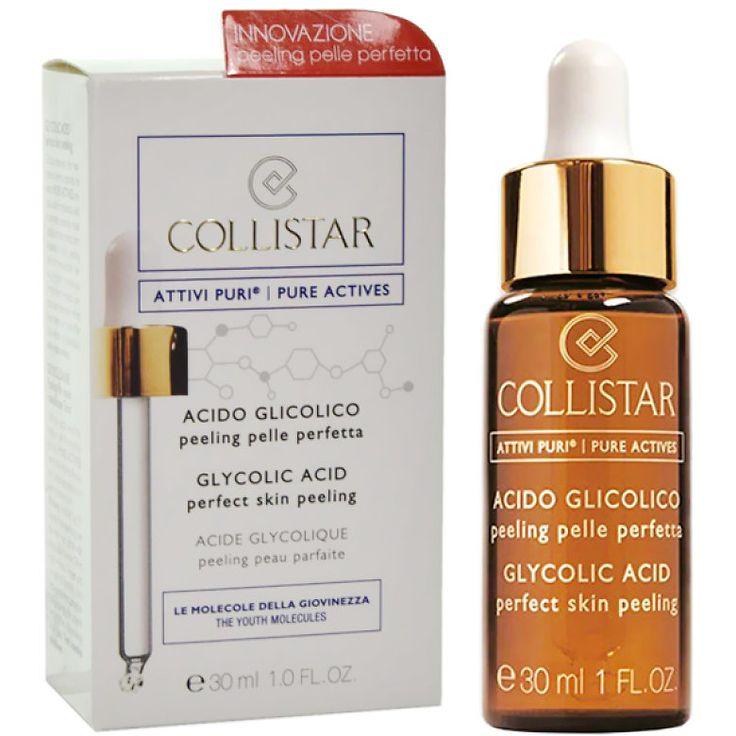 Collistar - Gomaj pentru fata cu Acid Glycolic, 30 ml - Incolor
