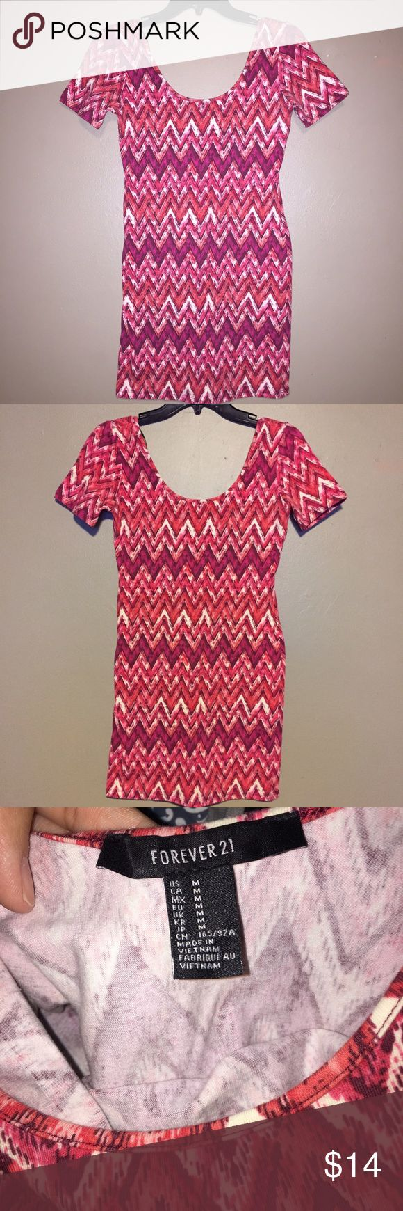 Forever 21 Pink bodycon dress Bodycon dress. New without tags. Forever 21 Dresses Mini
