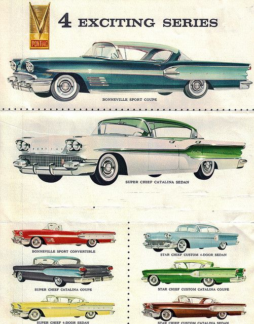 Pontiac Bonneville Super Chief and Star Chief, 1958