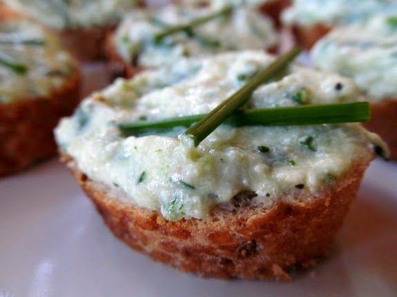 EAT ME (veg only): Cuketová pomazánka