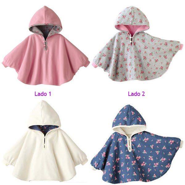 molde de poncho infantil em tecido - Pesquisa Google