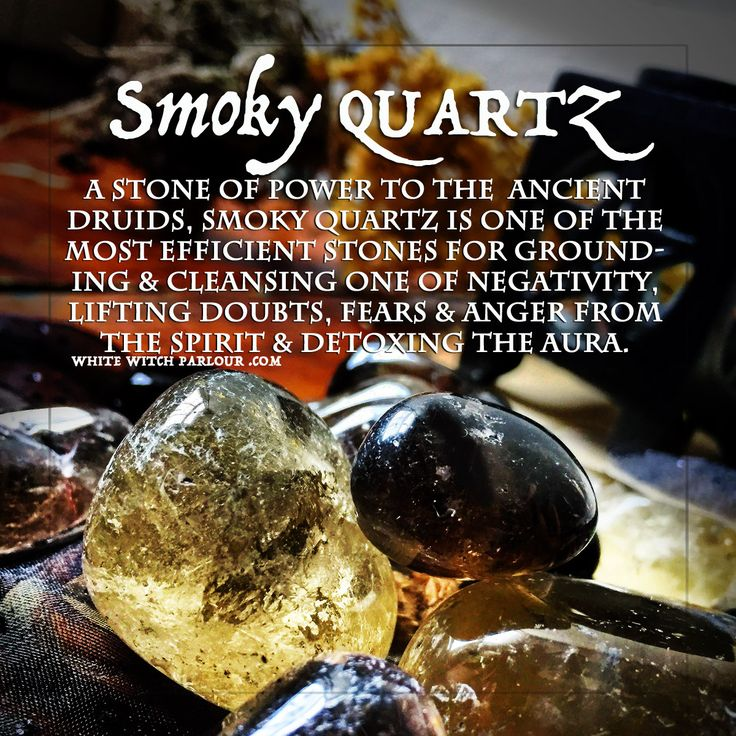 SMOKY QUARTZ, tumbled crystals, smokey quartz, enchanted, metaphysical, spiritual, occult, witchcraft, witch, hex, book of shadows, negativity, reiki, curse, negative energy, electromagnetic smog, meditation, strengthen aura, druid, ancient, shaman, earth, element, properties, www.whitewitchparlour.com