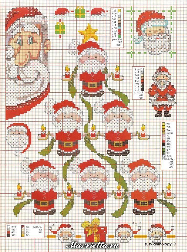 Grilles+de+points+de+croix+pour+Noel+%287%29.jpg 713×960 pixeles