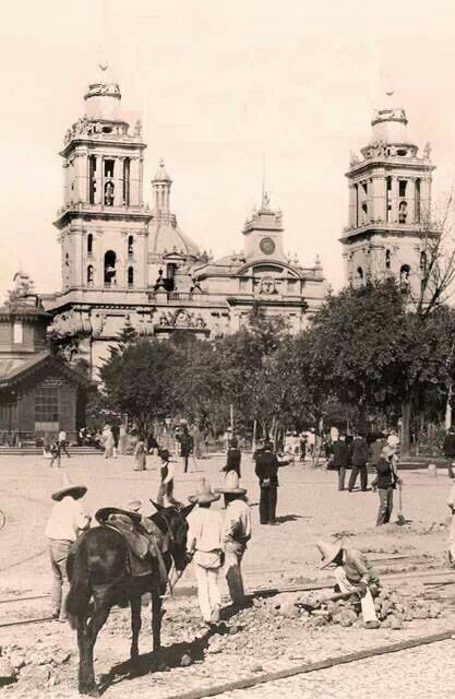 Catedral de Mexico, 1905