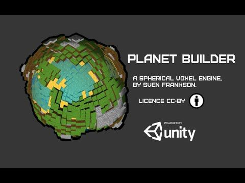 Spherical Voxel Engine (CC-BY) | Unity Community
