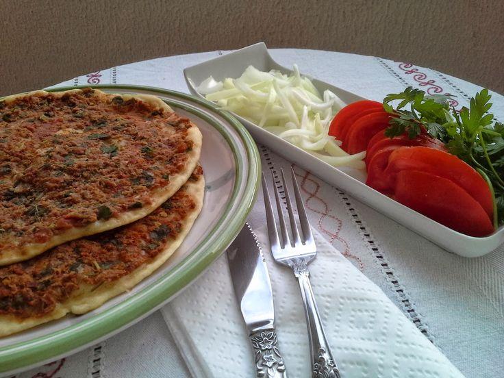 EVDE LAHMACUN - wwwTürkay Mutfakta.com