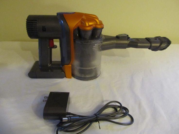 Dyson Dc31 Orange & Gray Hand Held Portable Vacuum Cleaner Rechargable