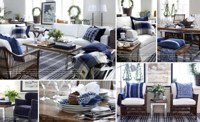 SOMMERWHITE: COASTAL NEW ENGLAND Blue & white decor inspiration