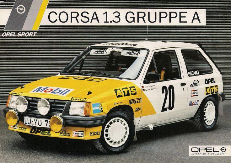 Opel Corsa 1.3 Gruppe A (1985)