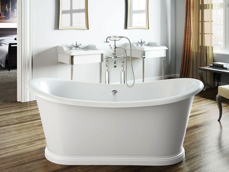 Der komfortable Innenraum unserer #Badewanne Preston small lädt zum Verweilen und Geniessen ein. Geschwungene Linien und eine grosszügige Wannentiefe vermitteln vollkommene Behaglichkeit. http://www.baedermax.ch/freistehende-badewannen/acryl/preston-small-64cw.html