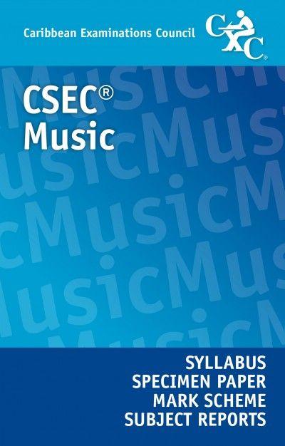 27 best csec syllabuses images on pinterest caribbean business csec music syllabus specimen paper mark scheme and subject reports ebook fandeluxe Gallery
