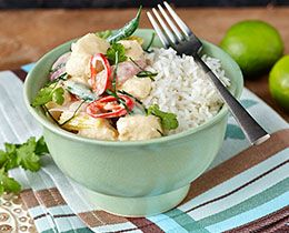 Thai Green Fish Curry with PHILLY Recipe