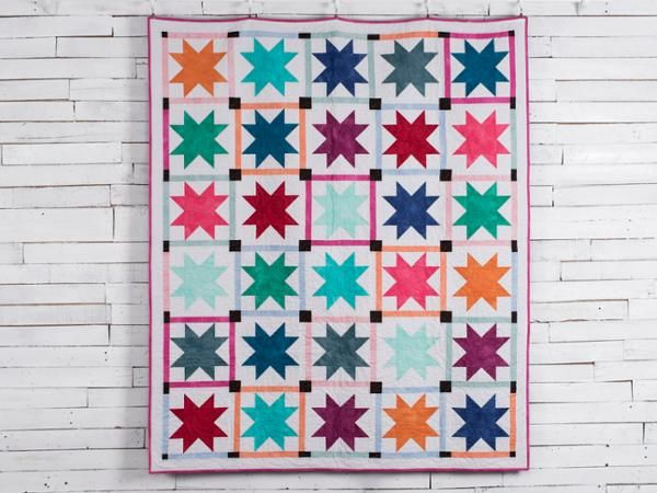 Stunning Stars Call Me Contemporary Quilt Kit