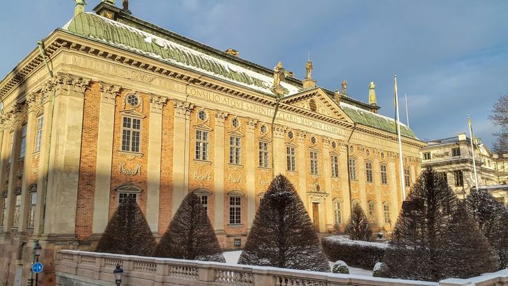 The House of Nobility (Riddarhuset) in Stockholm, Sweden.