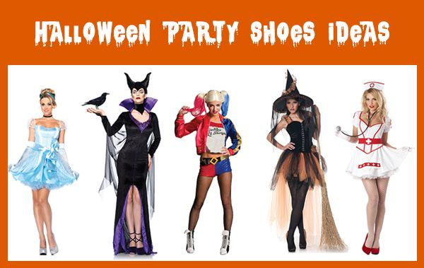 HALLOWEEN PARTY SHOES Ideas... #Halloween #shoes #partyshoes #dressup