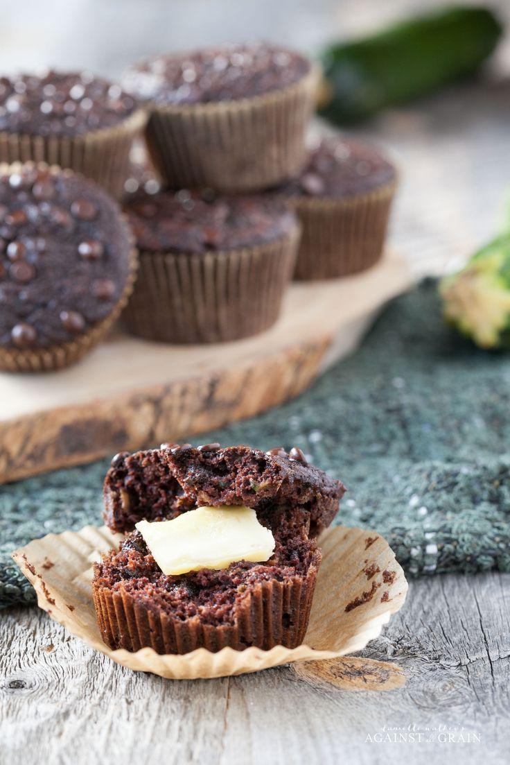 Nut-free Chocolate Zucchini Muffins from Danielle Walker