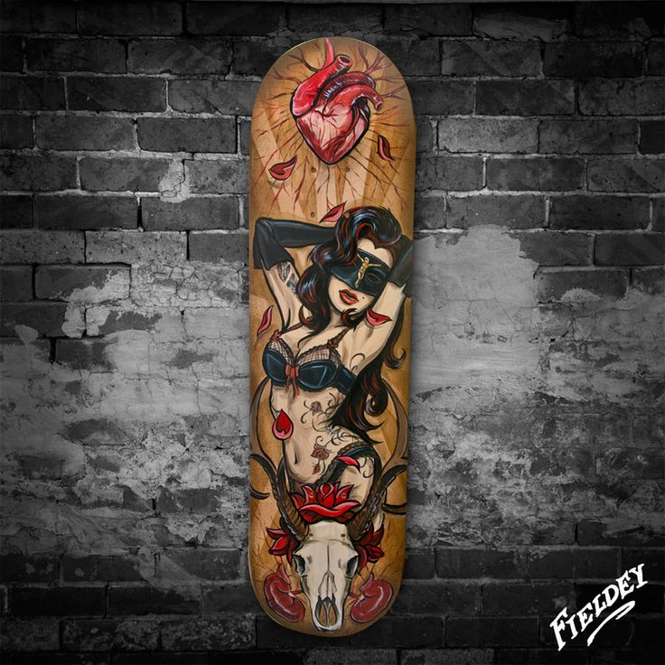 custom painted skateboards fieldey art art decks skateboards pinterest art skateboard. Black Bedroom Furniture Sets. Home Design Ideas