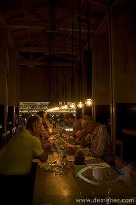 Workshop Kitchen and Bar Lighting by PSLAB 05