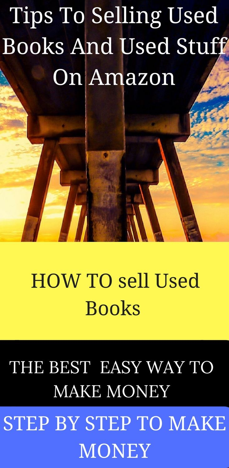 """Tips To Selling Used Books And Used Stuff On Amazon There are two """"seller"""" programs on Amazon. The first, """"Filled by Amazon"""" (FBA), requires a monthly fee, but offers great benefits, both in terms of convenience and for selling your property. The second,"""