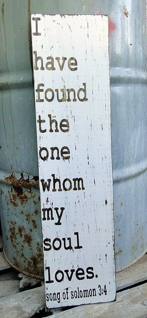 I have found...