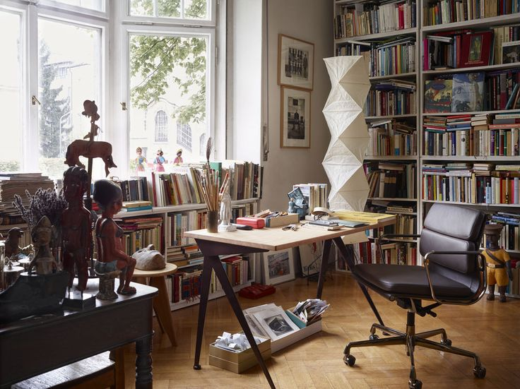 Compas Direction by Jean Prouvé, 1953 Soft Pad Chair by Charles & Ray Eames…