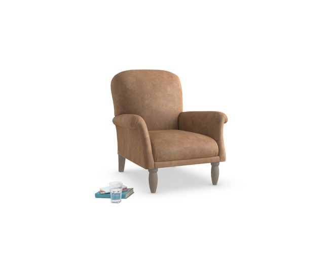 Our gorgeous classic style Peppy armchair is skillfully made & upholstered in Blighty. It is seriously comfy with the comfiest cushion we have ever tested!