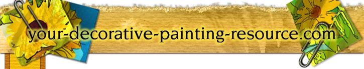 Great decorative painting resource.. what paints work best on misc. materials, and reviews of paints