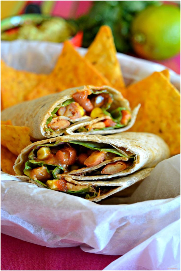Sweet my Kitchen: Burritos vegetarianos