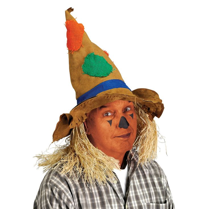 Thanksgiving Party Scarecrow Hat (6ct)