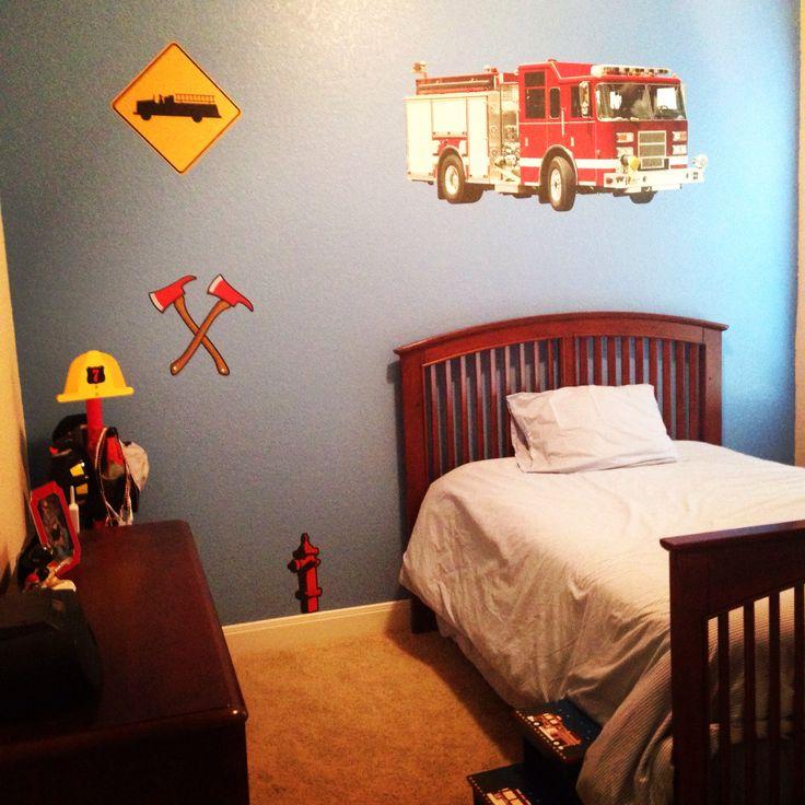 Best 25 Fire Truck Beds Ideas On Pinterest: 25+ Best Ideas About Fire Truck Bedroom On Pinterest