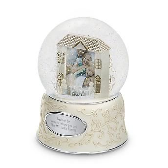 Personalized Custom Family Photo Snow Globe   Things Remembered