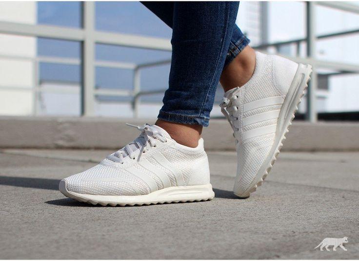 Adidas Los Angeles Femme Blanche