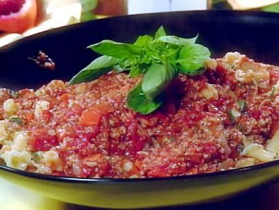 Veal Ragu with Campanelle Recipe   Rachael Ray   Food Network