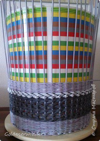 Материалы и инструменты Плетение Моя любимая форма  Трубочки бумажные фото 2
