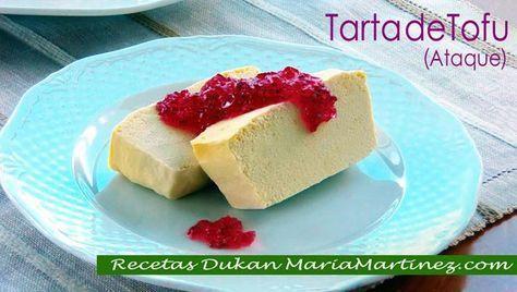 Recetas Dukan con Tofu: Tarta de Tofu (Ataque)