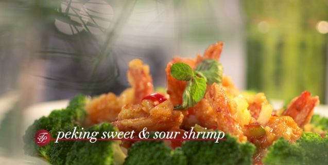 Peking Sweet and Sour Shrimp | Martin Yan Asian Food Channel