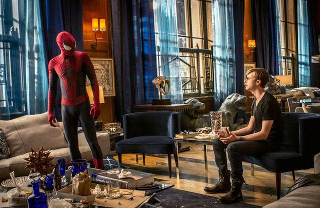 スパーダーマンとハリー(デイン・デハーン)の友情が光るアメイジング・スパイダーマン2!デイン・デハーンの作品
